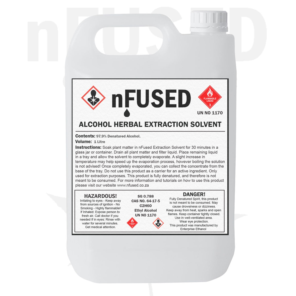 nFused - 1L HERBAL EXTRACTION SOLVENT