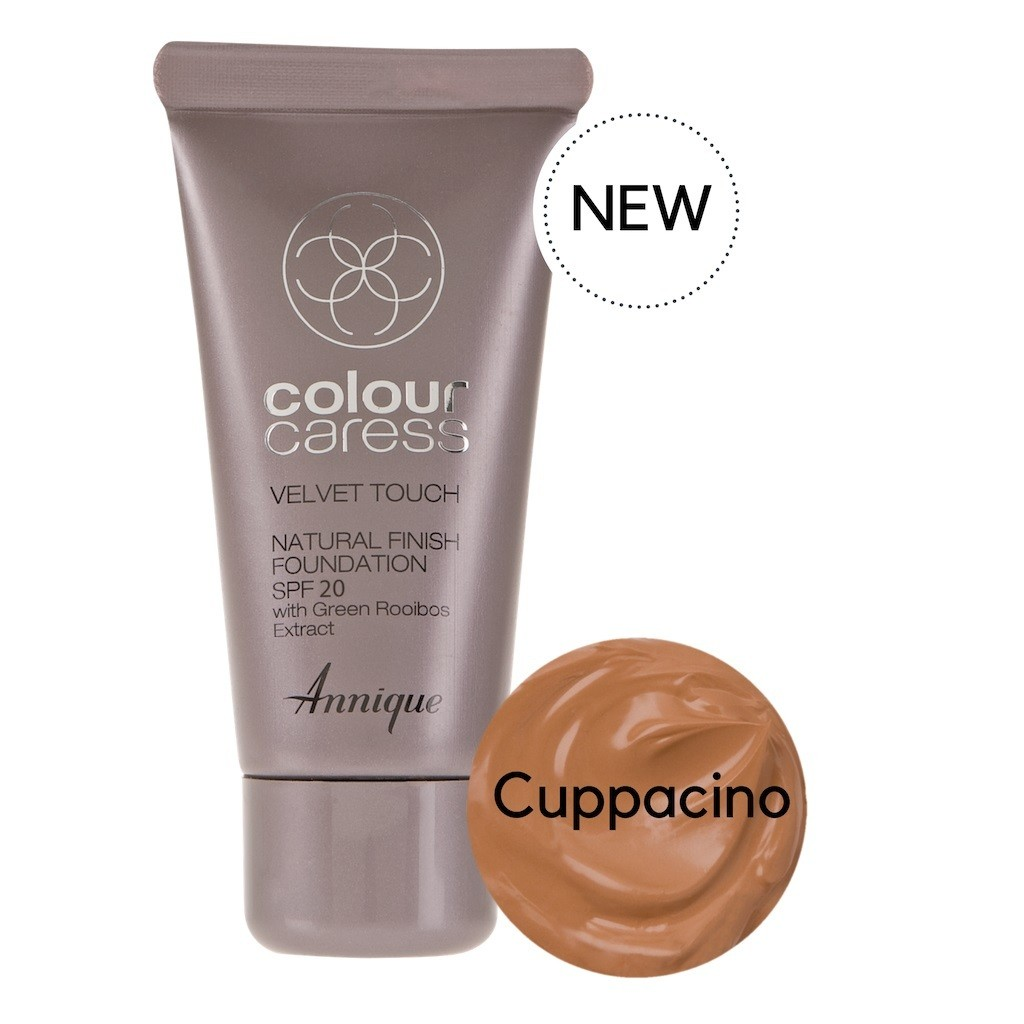 Velvet Touch Natural Foundation Cappuccino 30ml