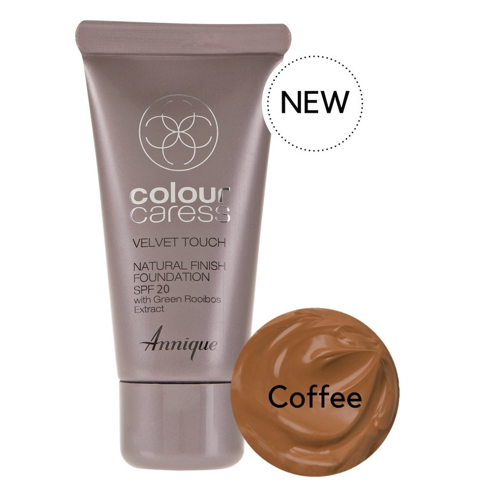 Velvet Touch Natural Foundation Coffee 30ml