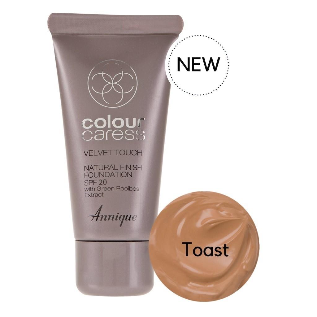 Velvet Touch Natural Foundation Toast 30ml