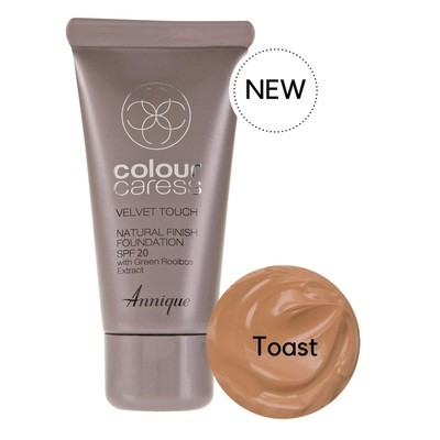 Velvet Touch Natural Foundation Toast 30ml
