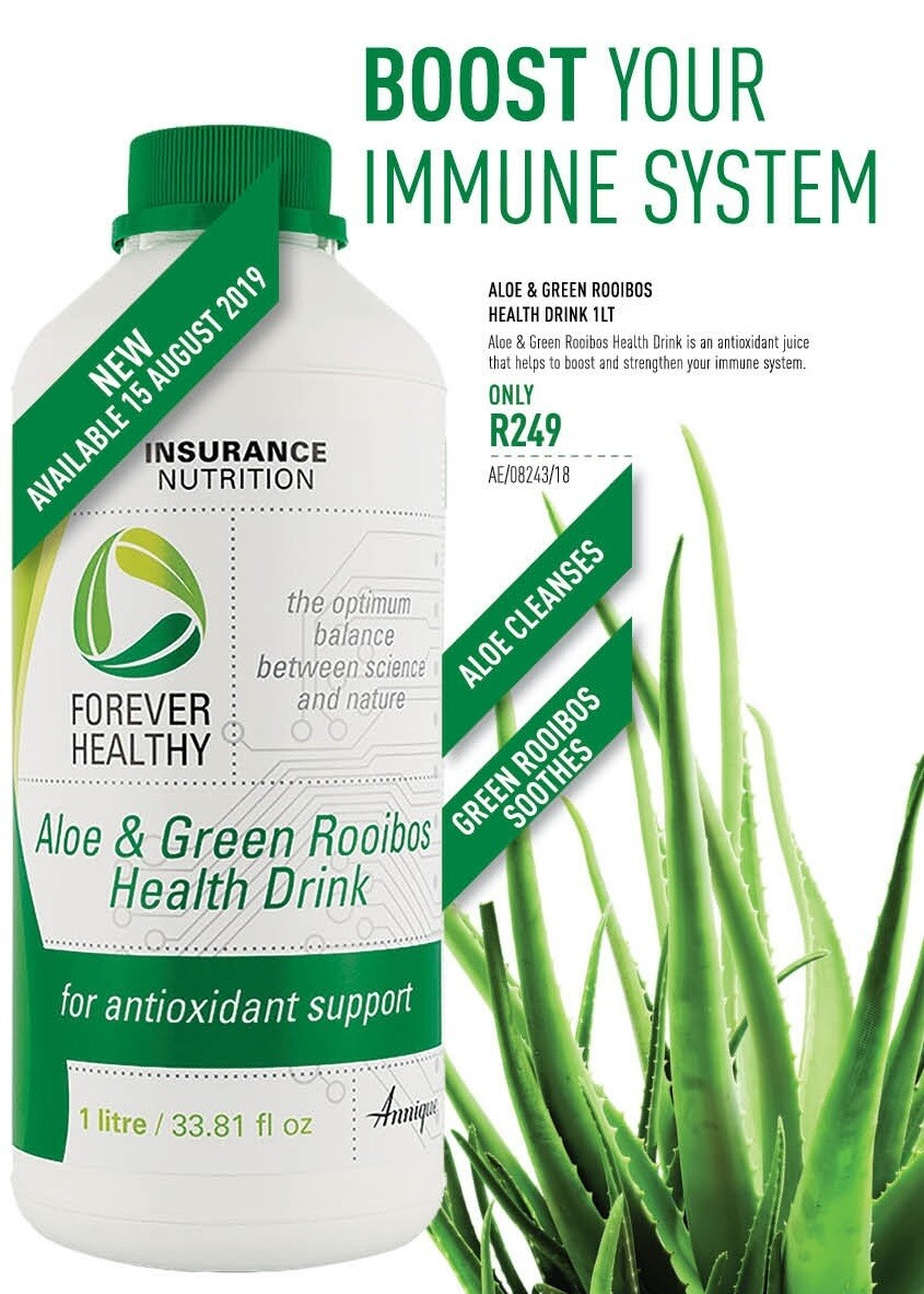 Aloe & Green Rooibos Health Drink 1LT