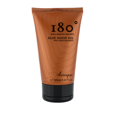 180° Aloe Shave Gel 125ml