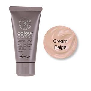 Velvet touch foundation, Cream Beige 30ml