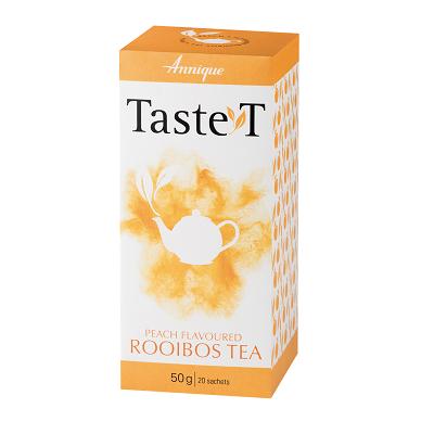Taste T Peach Rooibos Tea  50g