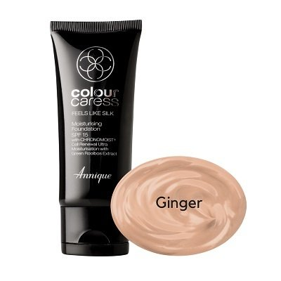 Feels like silk moisturising foundation, Ginger SPF 15  30ml