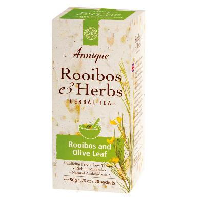 Rooibos & Olive Leaf Tea 50g