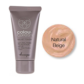 Velvet Touch foundation,Natural Beige 30ml