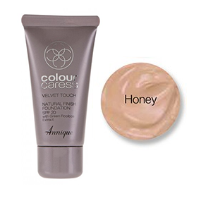 Velvet Touch foundation, Honey 30ml