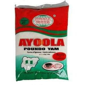 AYOOLA FOODS - POUNDO YAM 1.8KG