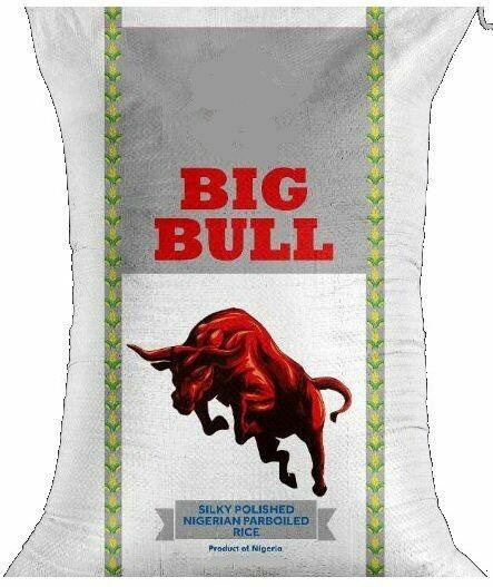 BIG BULL NIGERIAN PARBOILED RICE 5KG
