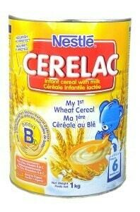 NESTLE CERELAC WHEAT CEREAL 1KG TIN