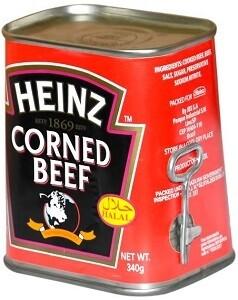 HEINZ CORNED  BEEF 340GM