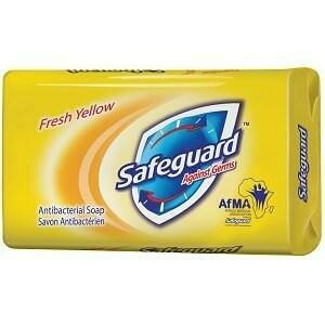 SAFEGUARD A/BACTERIAL FRSH YLW SOAP 175G