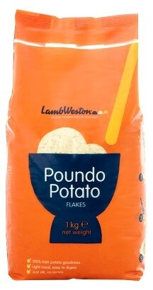 LAMBWESTON POUNDO POTATO FLAKES 1KG