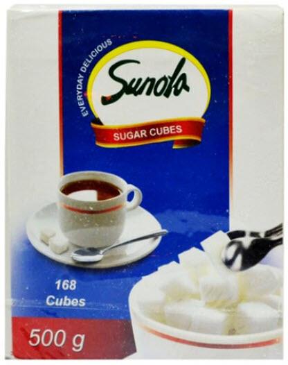 SUNOLA SUGAR CUBES 90'S 474G