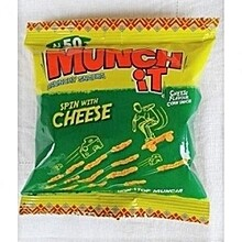 MUNCH IT CRUNCHY SNACK CHEESE FLAVOUR 25G