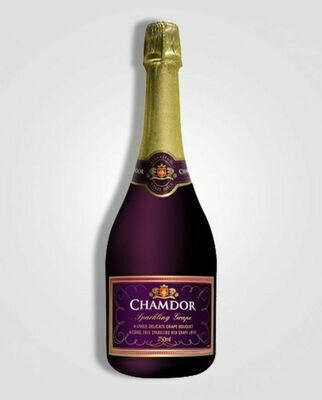 CHAMDOR SPARKLING GRAPE RED 750ML