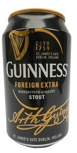 GUINNESS FOREIGN EXTRA STOUT CAN 330ML