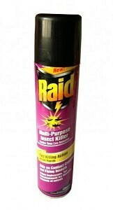 JOHNSON RAID INSECT KILLER 300ML