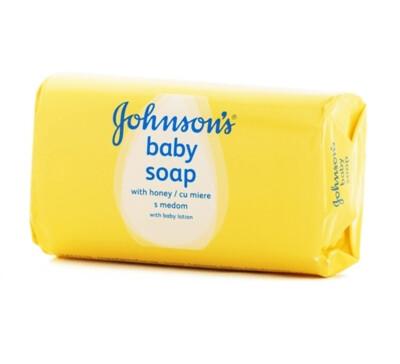 JOHNSON'S BABY HONEY & OIL SOAP 120G