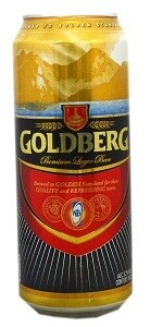 GOLDBERG PREMIUM LAGER BEER CAN 50CL