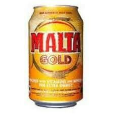 MALTA GOLD NON ALCOHOLIC MALT CAN 33CL