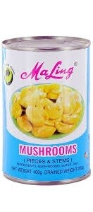 MALIANGE MUSHROOMS PIECES & STEMS-400/425G