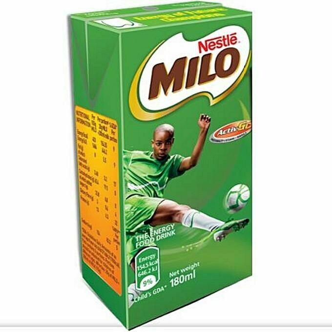 NESTLE MILO ENERGY FOOD DRINK 180ML