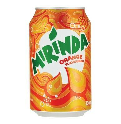 MIRINDA ORANGE CAN (LOCAL) 33CL