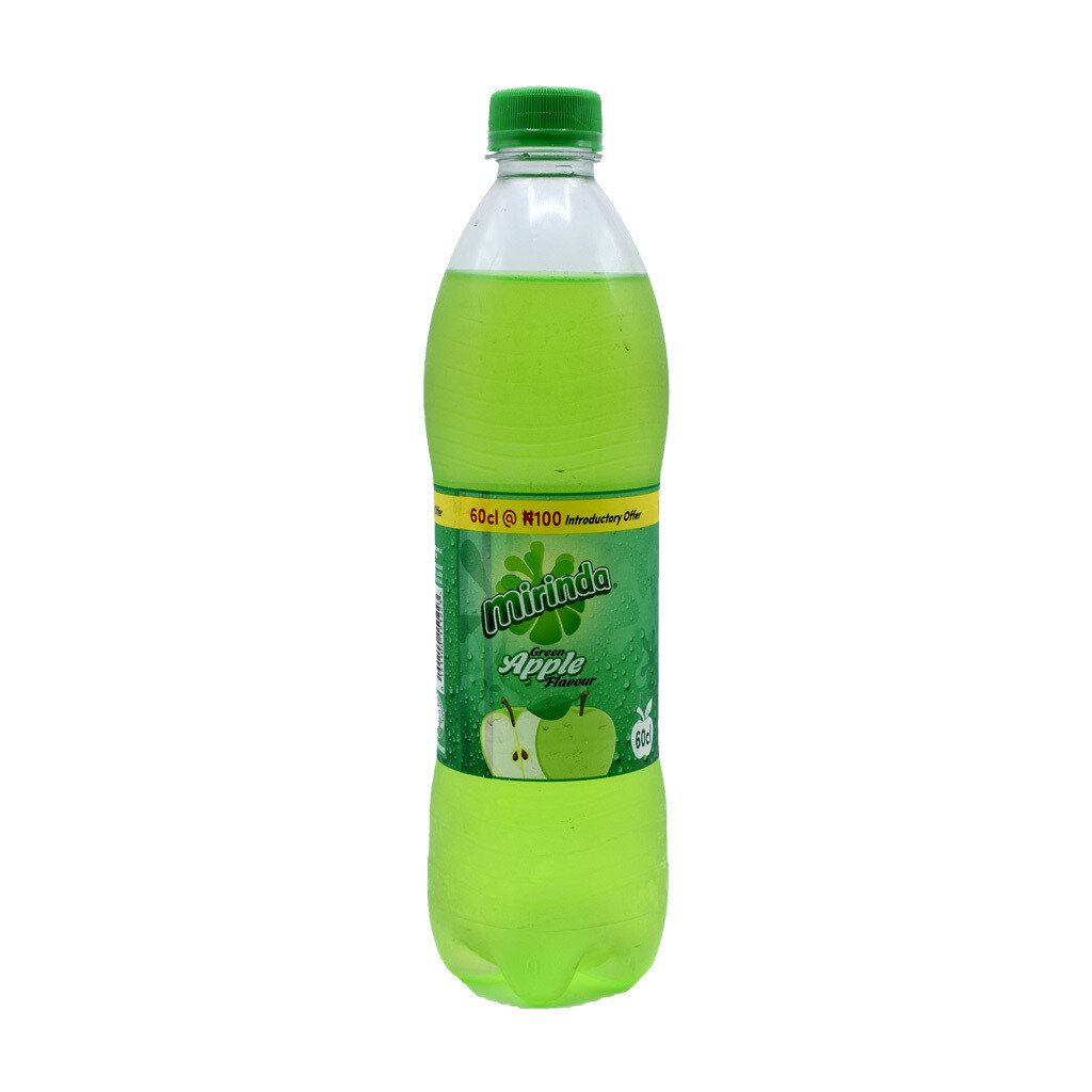 MIRINDA GREEN APPLE FLAVOUR PET 60CL