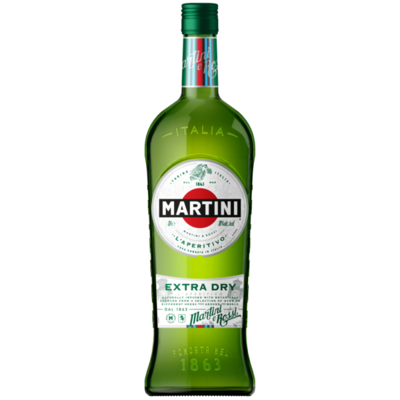 MARTINI EXTRA DRY 1LTR