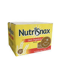 NUTRISNAX OATS DIGESTIVE BISCUITS 115G