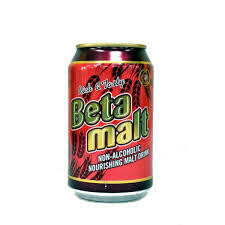 BETA MALT NON-ALCOHOLIC DRINK CAN 330ML