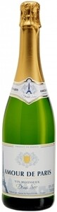 AMOUR DE PARIS VIN MOUSSEUX DEMI-SEC SPARKLING WINE 750ML