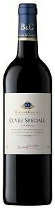 B&G CUVEE SPECIALE NATURAL SWEET VIN ROUGE RED WINE 750ML