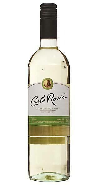 CARLO ROSSI CALIFORNIA - WHITE 750ML