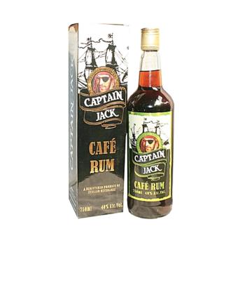 CAPTAIN JACK CAFE RUM 750ML