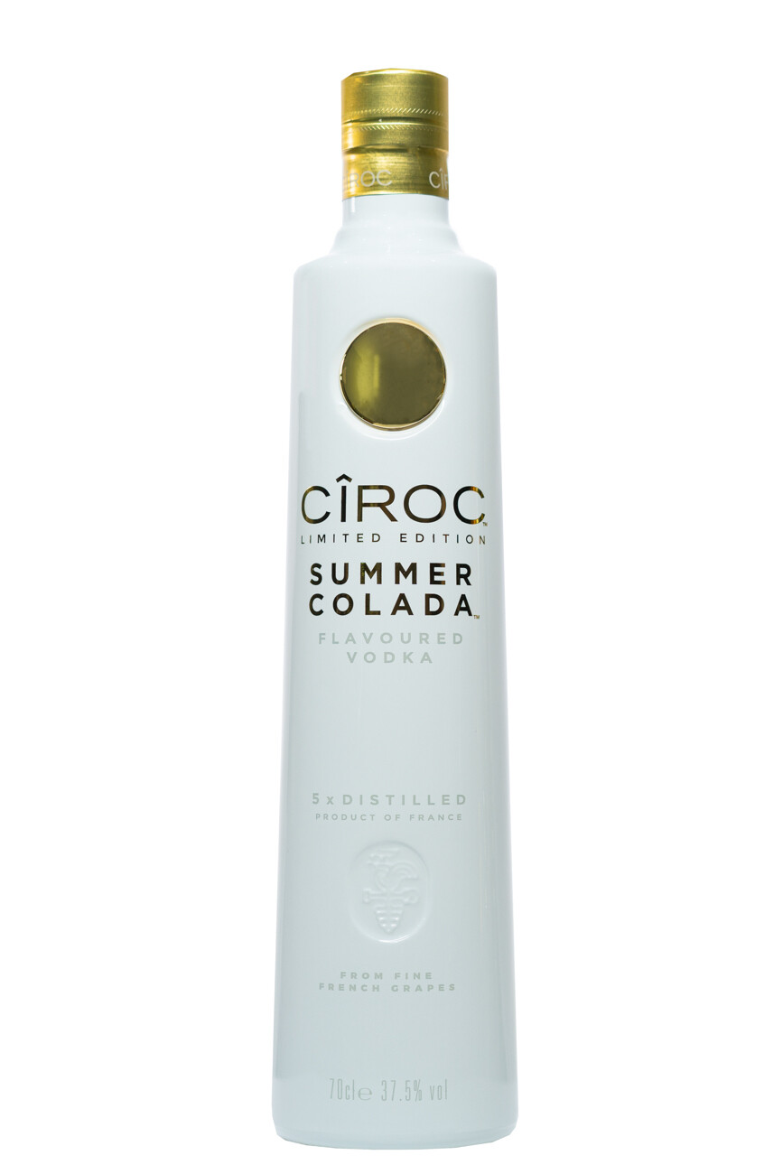 CIROC SUMMER COLADA FLAVOURED VODKA 5X DISTILLED 1LTR