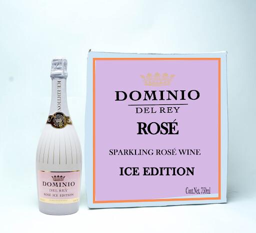 DOMINO DEL REY SPARKLING ROSE WINE ROSE ICE EDTION 750ML
