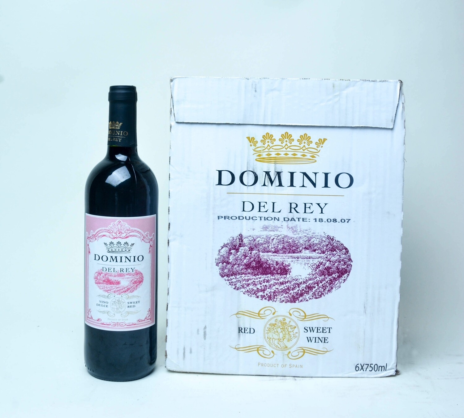 DOMINIO DEL REY SWEET RED WINE 75CL