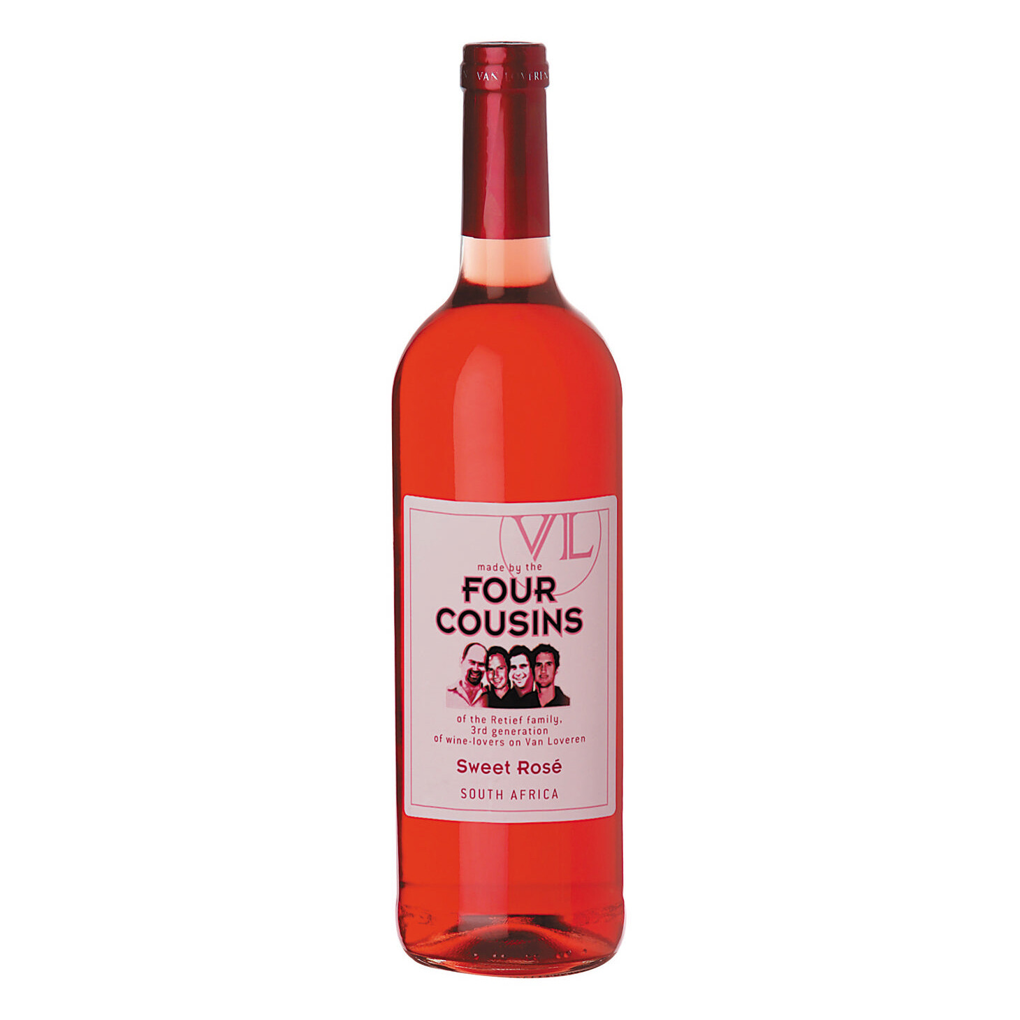 FOUR COUSINS SWEET ROSE WINE 750ML