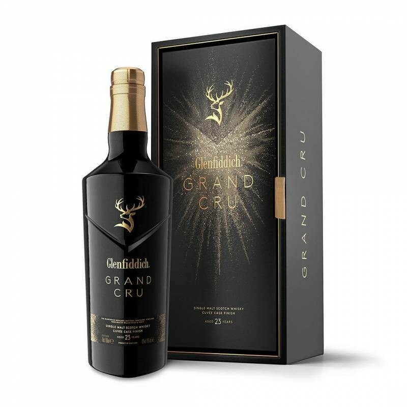 GLENFIDDICH GRAND CRU SCOTCH WHISKY CUVEE CASK FINISH 23YRS 700ML