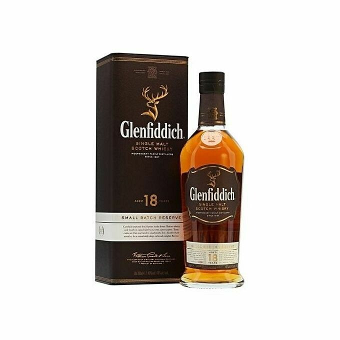 GLENFIDDICH SCOTCH WHISKY 18YRS.75CL