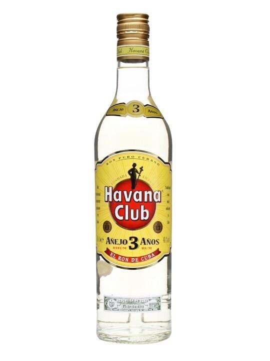 HAVANA CLUB 3 YEARS RUM 70CL