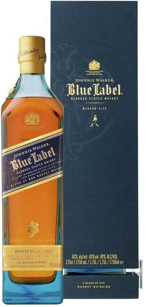 J.W BLUE LABEL SCOTCH WHISKY 70CL