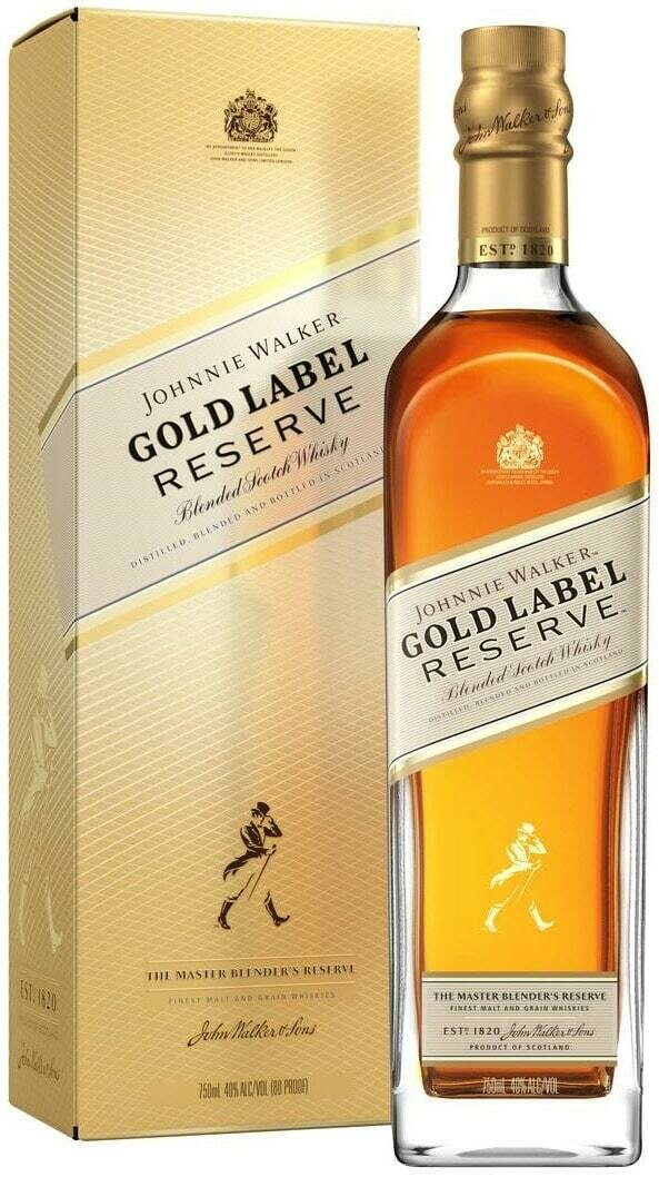 J.W GOLD LABEL RESERV SCOTCH WHISKY 70CL