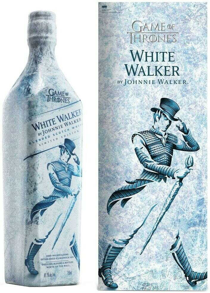 J.W WHITE BLENDED SCOTCH WHISKY THE GAME OF THRONES 750ML