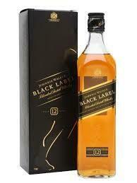 J.W BLACK LABEL BLENDED WHISKY 12YR 70CL