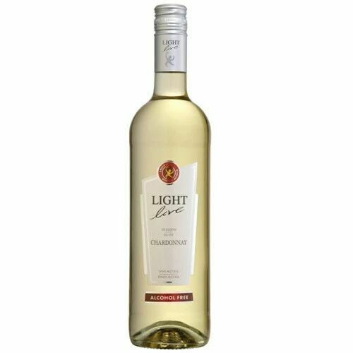 LIGHT LIVE DE RASINS CHARDONAY ALCOHOL FREE WINE 750ML